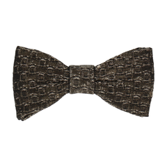 Luhrmann in Black & Gold Bow Tie