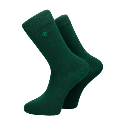 Oxbridge Socks in Forest Green