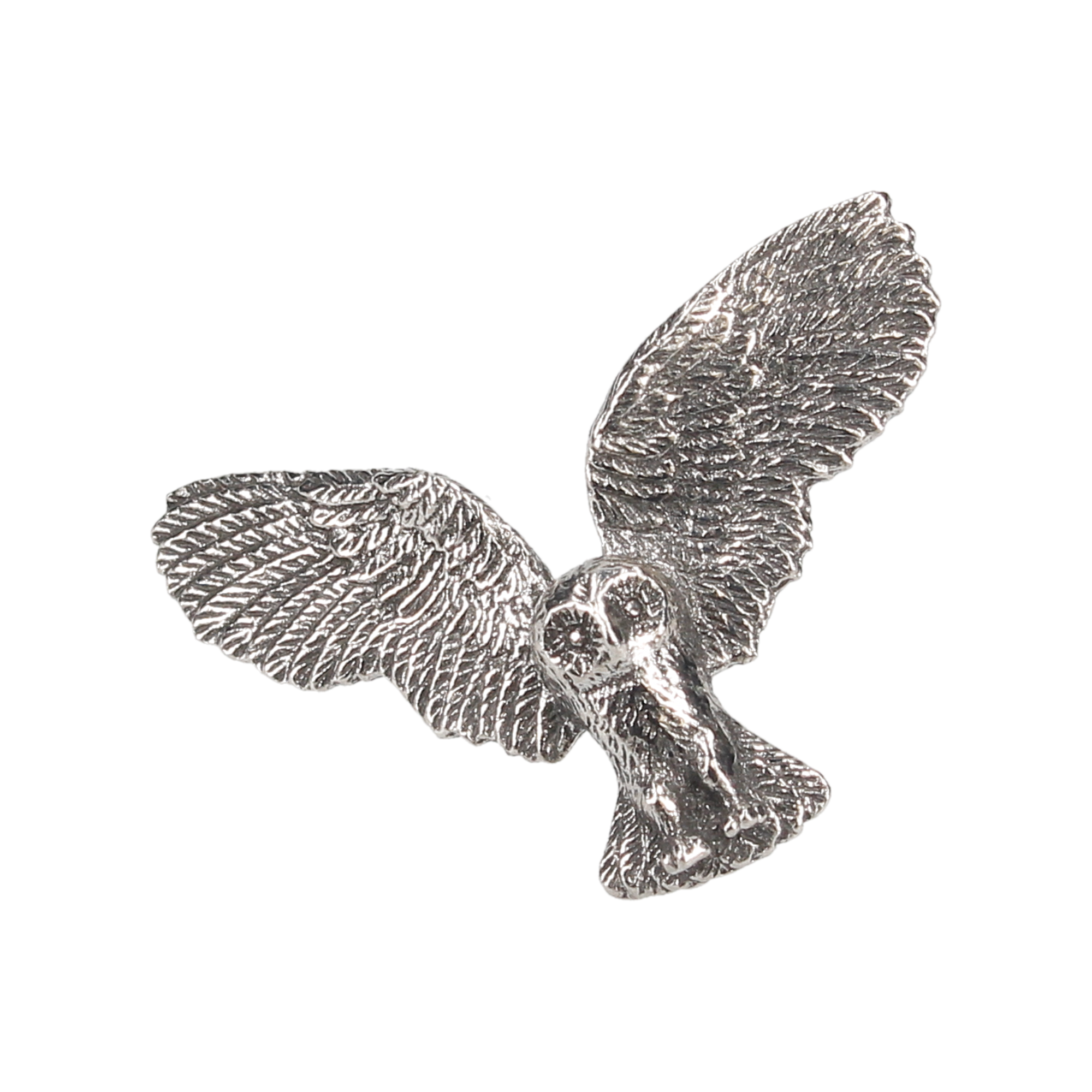 Flying Owl Lapel Pin