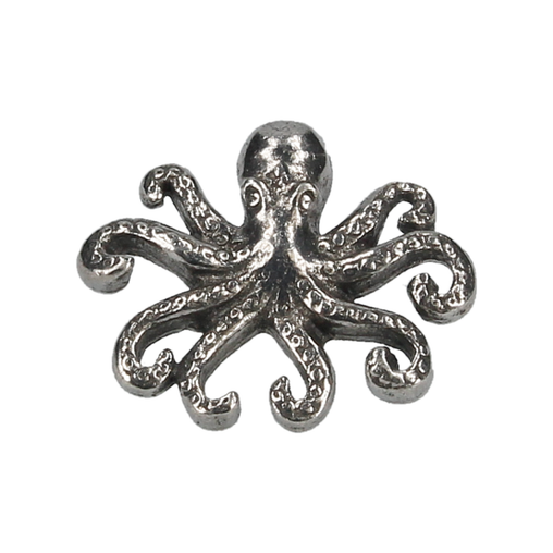 OCTOPUS LAPEL BADGE