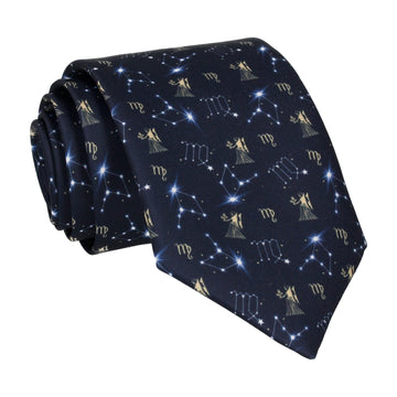 Virgo Zodiac Star Sign Tie