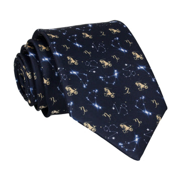 Capricorn Zodiac Star Sign Tie