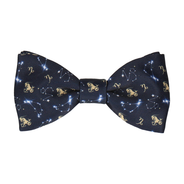 Capricorn Zodiac Star Sign Bow Tie