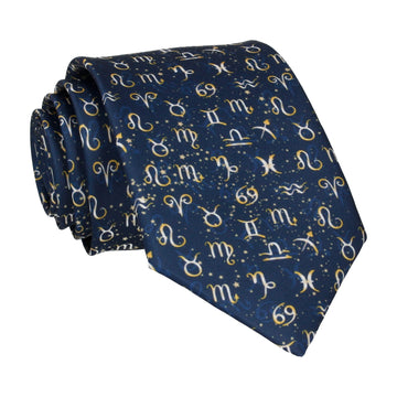Zodiac Star Sign Signs Tie