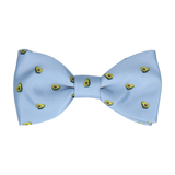 Steel Blue Avocado Bow Tie