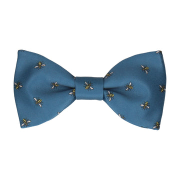 Manchester Bee Dark Blue Bow Tie