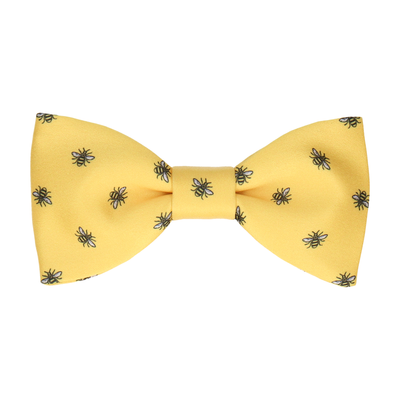 Manchester Bee Yellow Bow Tie