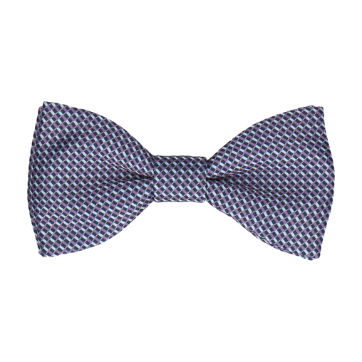 Andover Blue & Purple Bow Tie
