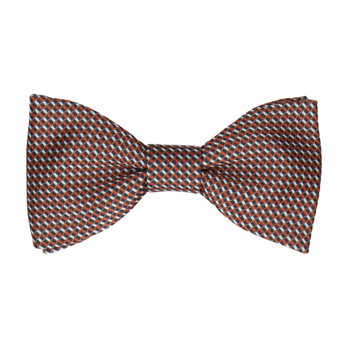 Andover Blue & Orange Bow Tie