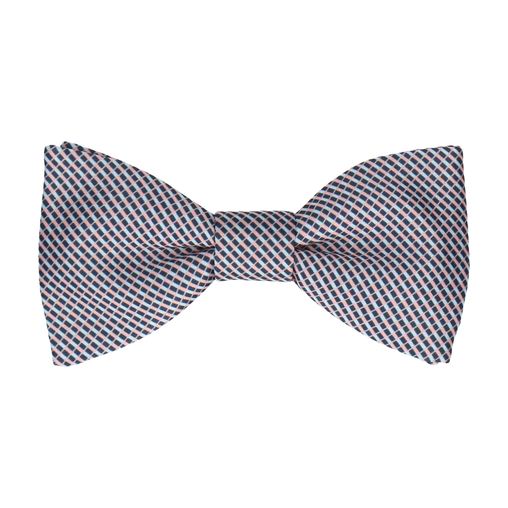 Andover Blue & Pink Bow Tie