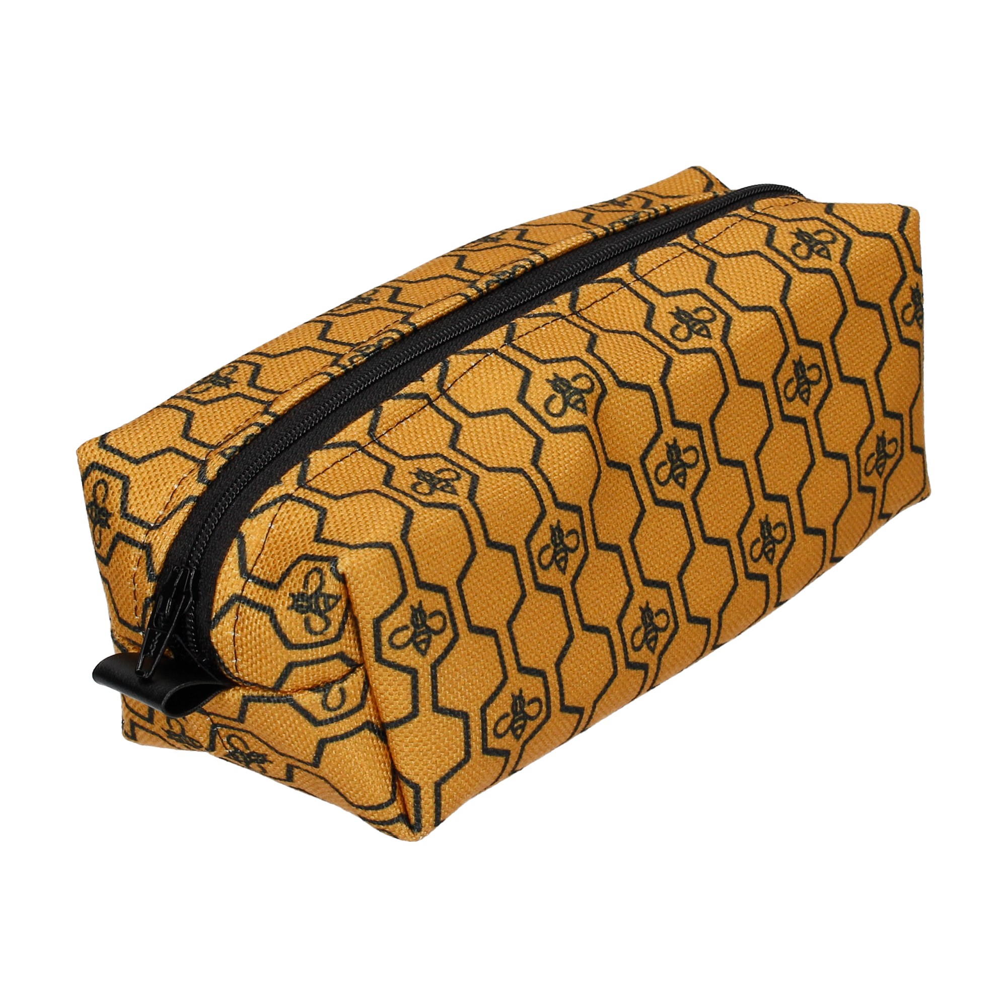 GEO HONEYCOMB IN GOLD WASH BAG (SMALL)