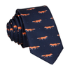Foxes in Navy Blue Tie