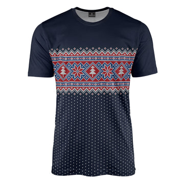 Christmas Tree Fair Isle Tee