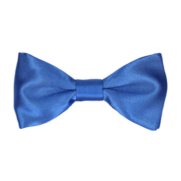 Plain Royal Blue Satin 'Basics' Bow Tie