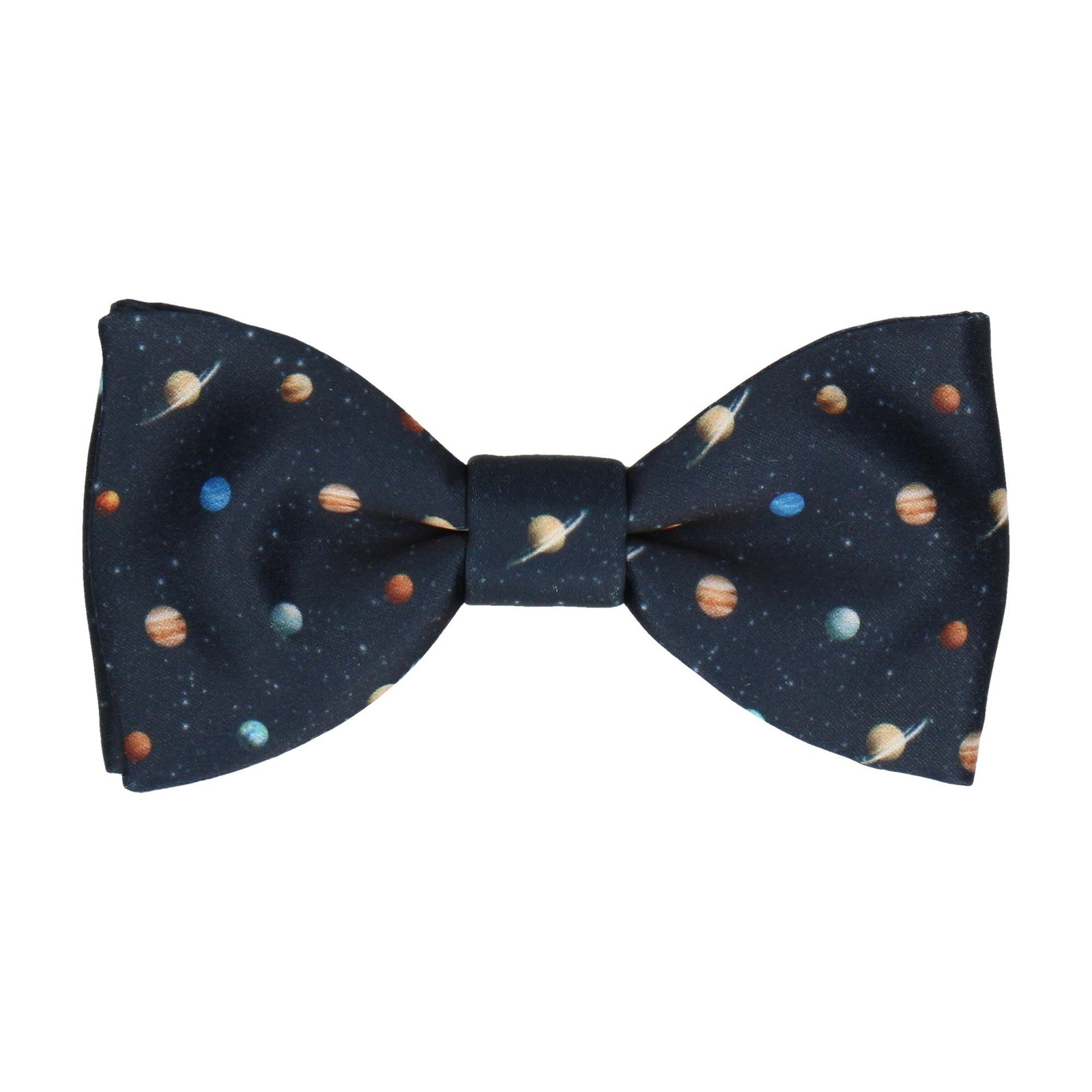 Solar System Science Icons Bow Tie