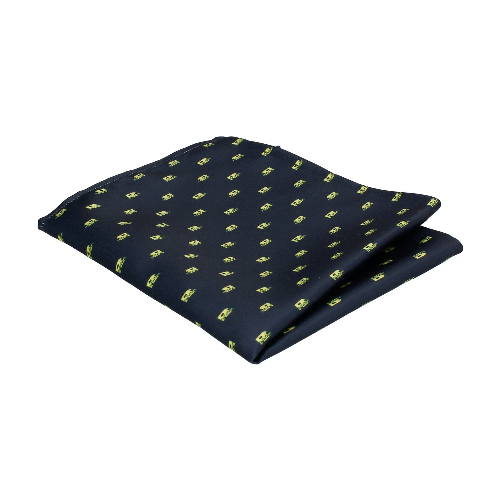 Ambulance Navy Blue Pocket Square