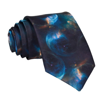 Space Orbs Science Tie