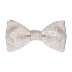 McQuiston in Champagne Bow Tie