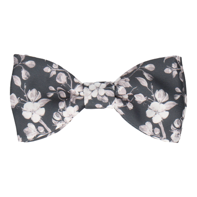 Kyoto in Dark Grey Bow Tie