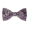 Arya in Plum Bow Tie