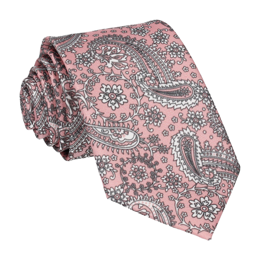 Arya in Pink Rose Tie