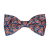 Das in Navy & Orange Bow Tie