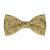 Das in Gold & Navy Bow Tie