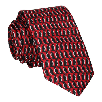 Penguin March Red Tie