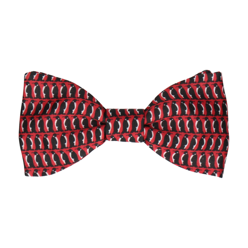 Penguin March in Red Bow Tie