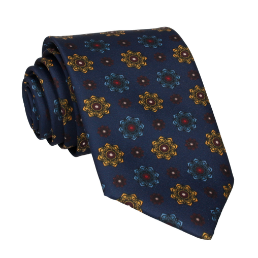 Bloomberg Navy Blue Tie