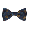 Bloomberg in Navy Blue Bow Tie