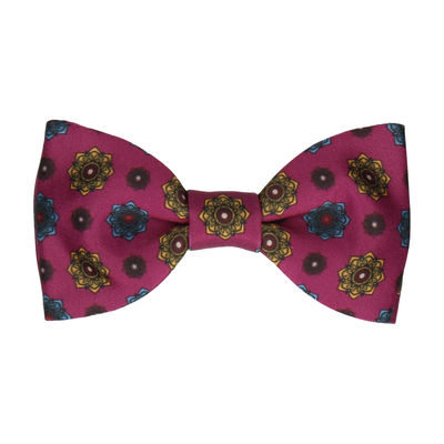 Mulberry Medallion Bow Tie