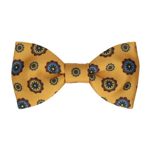 Cavendish in Mustard Bow Tie
