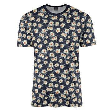 Fairford Floral Navy T-Shirt