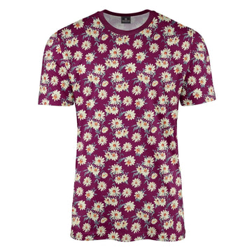 Fairford Floral Mulberry T-Shirt