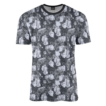 Stourhead Grey Floral T-Shirt