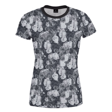 Stourhead Grey Floral Women's T-Shirt