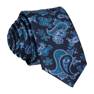 Patel in Navy & Blue Tie