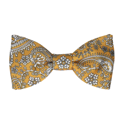 Arya in Saffron Gold Bow Tie