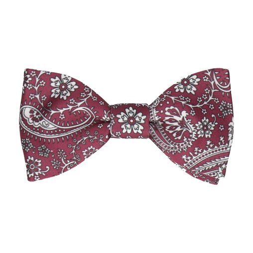 Arya in Mulberry Bow Tie