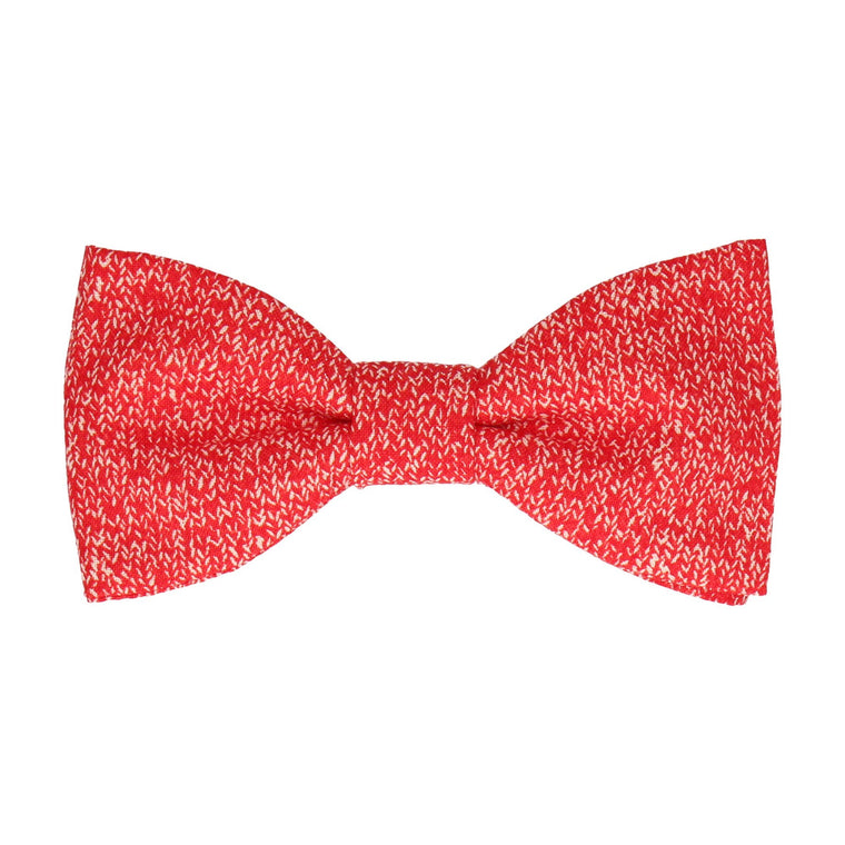 Upton in Red Bow Tie
