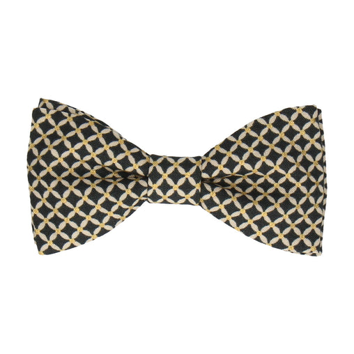 Fitzgerald Midnight Navy Blue Bow Tie
