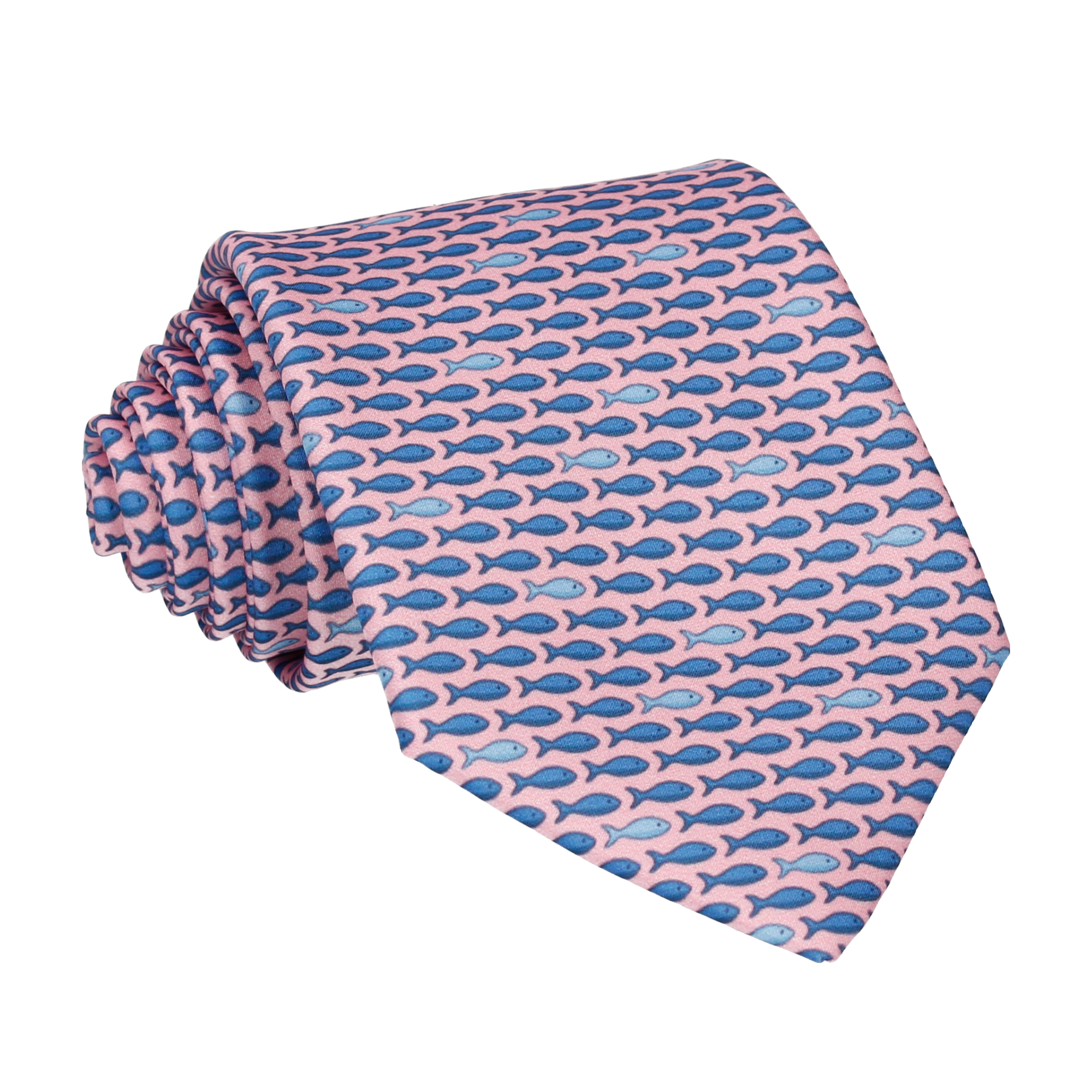 Fish in Pink Tie