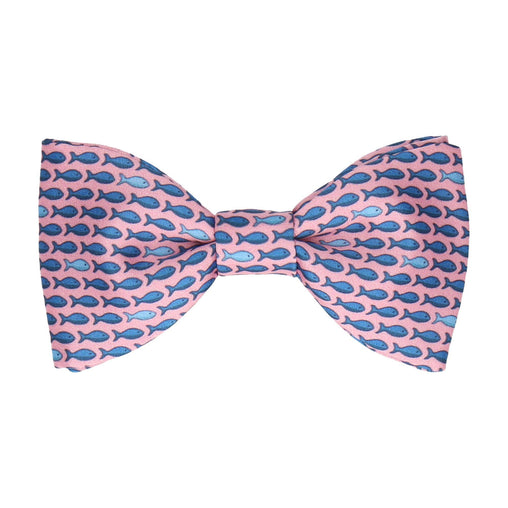 Fish Pink Bow Tie