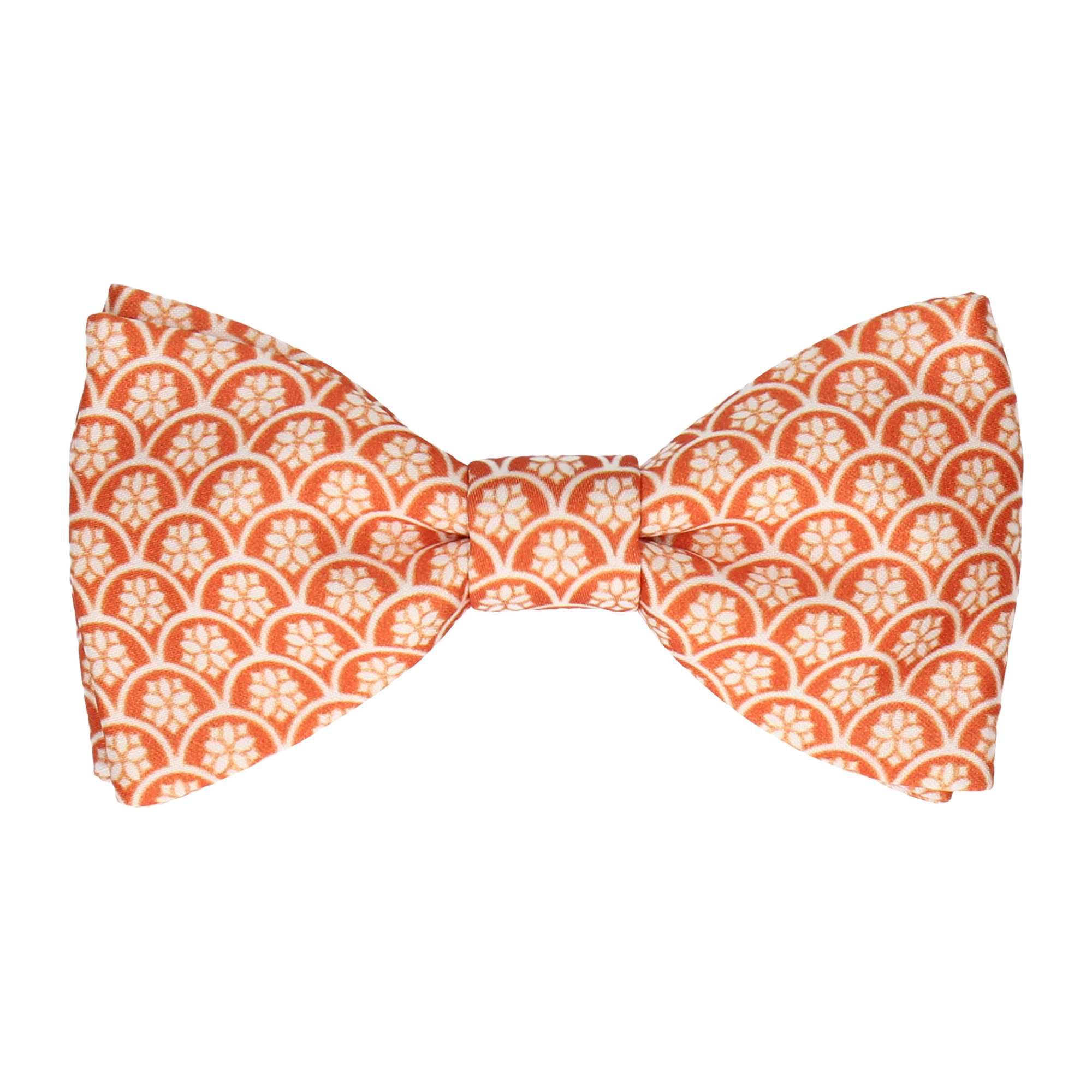 Fincham in Sunset Orange Bow Tie