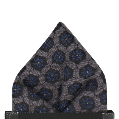 Penrose in Navy Pocket Square
