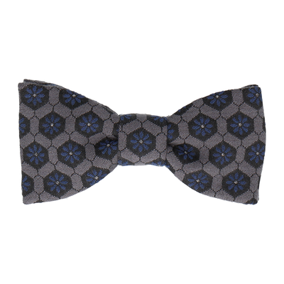 Penrose Navy Blue Bow Tie