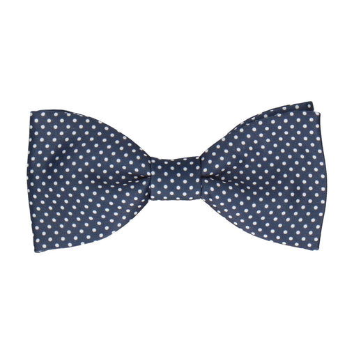 Pin Dots in Navy Blue Bow Tie