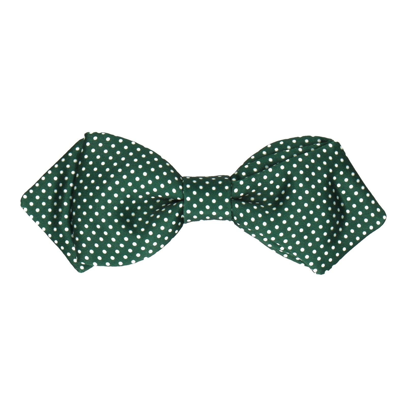 Dark Green Pin Dots Bow Tie