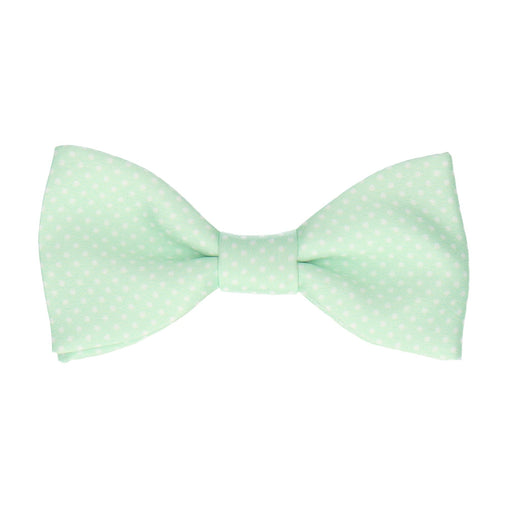 Pin Dots in Mint Bow Tie